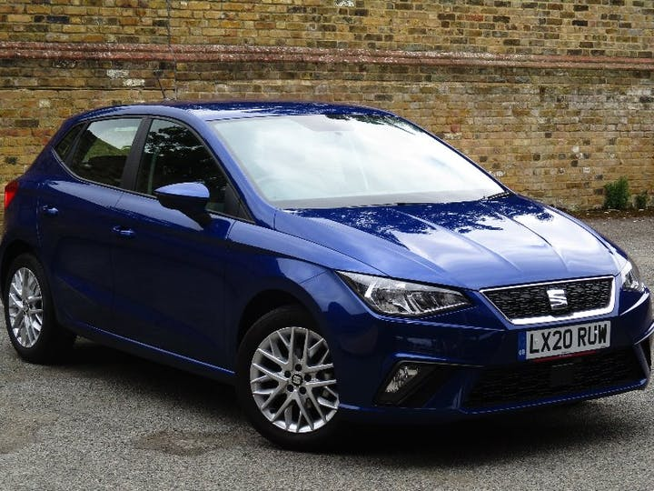Blue SEAT Ibiza 1.0 TSI SE Technology 2020