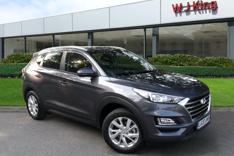 Grey Hyundai New Tucson 1.6 GDI SE NAV 2020