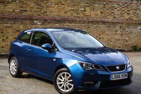 Blue SEAT Ibiza 1.2 TSI SE Technology 2016