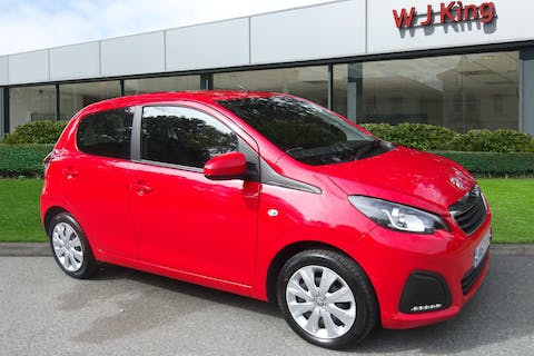 Red Peugeot 108 1.0 Active 2017