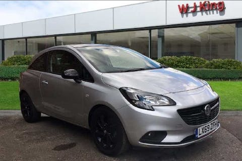 Silver Vauxhall Corsa 1.4 Griffin 2019