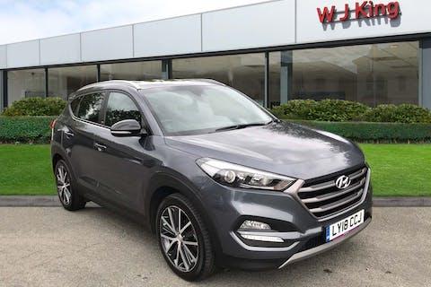 Hyundai New Tucson 1.6 T-GDI GO SE 2018
