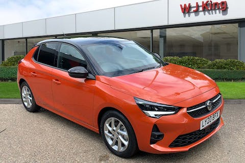 Orange Vauxhall Corsa 1.2 SRi Nav Premium 2020