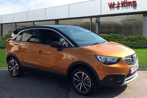 Orange Vauxhall Crossland X 1.2 Elite Nav 2020