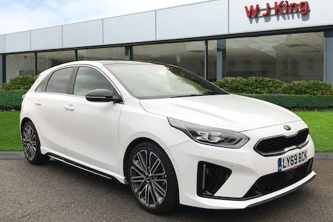 White Kia Ceed 1.4 GT-line S Isg 2019