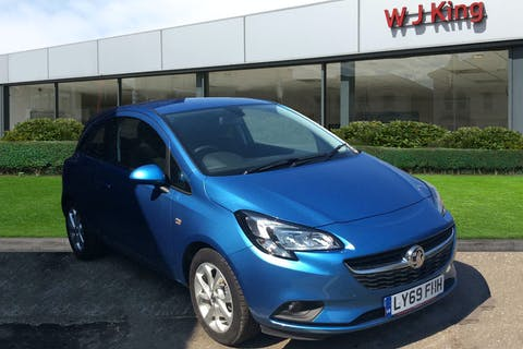 Blue Vauxhall Corsa 1.4 Energy 2019