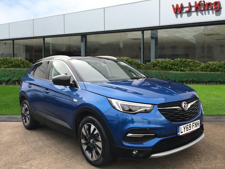 Blue Vauxhall Grandland X 1.5 Diesel SRi Nav Automatic 2019