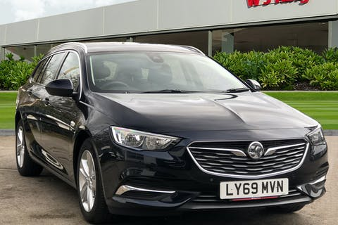 Blue Vauxhall Insignia 1.6 Sports Tourer Tech Line Nav 2019