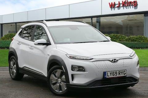 White Hyundai Kona 1.6 Premium SE 2020