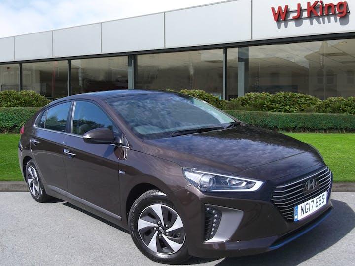 Brown Hyundai Ioniq 1.6 Premium 2017