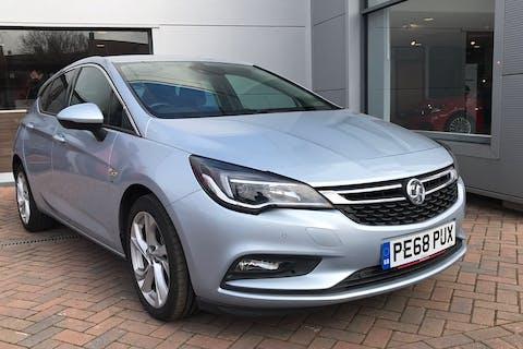Silver Vauxhall Astra 1.4 SRi 2018