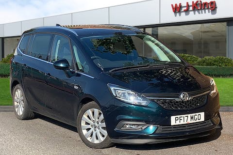 Blue Vauxhall Zafira Tourer 1.4 Energy 2017