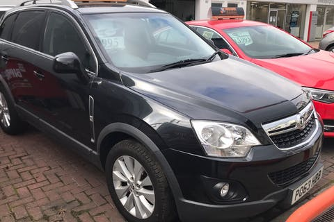 Black Vauxhall Antara 2.2 Diamond CDTi 2013