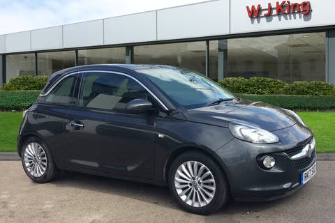 Grey Vauxhall Adam 1.2 Glam 2017