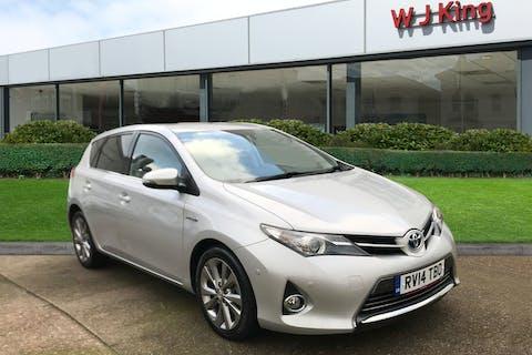 Silver Toyota Auris 1.8 Excel VVT-i 2014