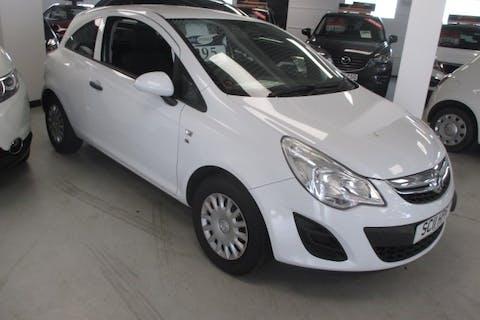 White Vauxhall Corsa 1.0 S Ecoflex 2011