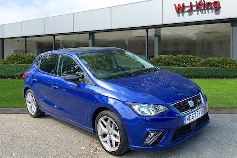 Blue SEAT Ibiza 1.0 TSI Fr DSG 2018