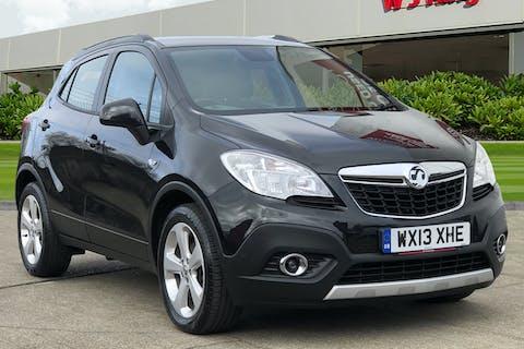 Black Vauxhall Mokka 1.4 Exclusiv S/S 2013