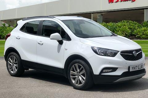 White Vauxhall Mokka X 1.4 Design Nav S/S 2017