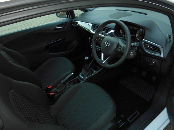 White Vauxhall Corsa 1.4 Energy A/C 3 Door 2019