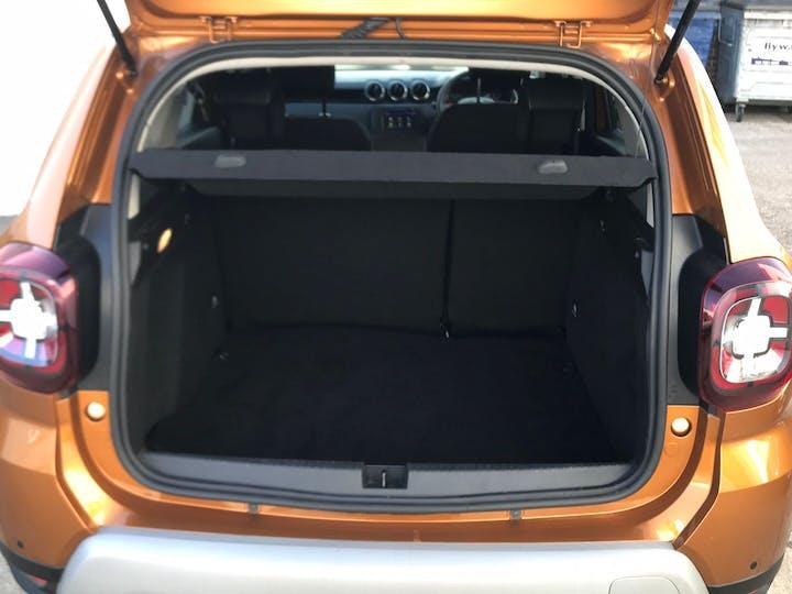 Orange Dacia Duster 1.3 Prestige Tce 2019