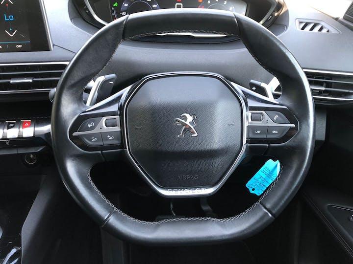 Blue Peugeot 3008 1.2 Puretech S/S Allure 2017