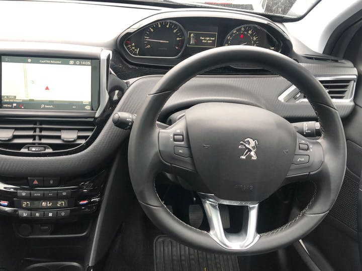 Grey Peugeot 2008 1.2 Allure Premium 2019