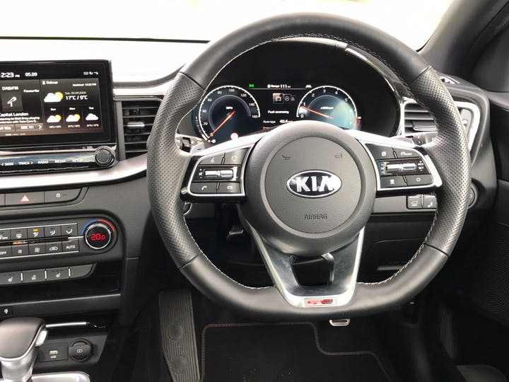 Blue Kia Proceed 1.4 GT-line S Isg 2020