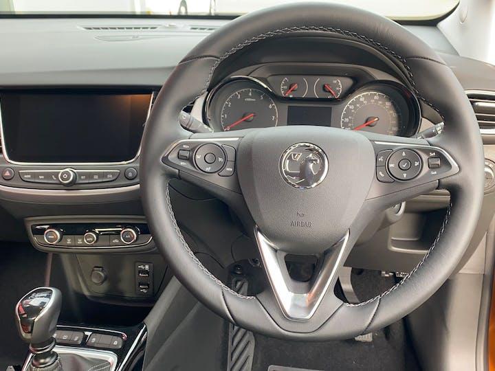 Orange Vauxhall Crossland X 1.2 SE Nav Ecotec S/S 2020