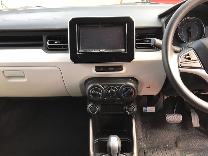 Red Suzuki Ignis 1.2 Sz-t Dualjet 2018