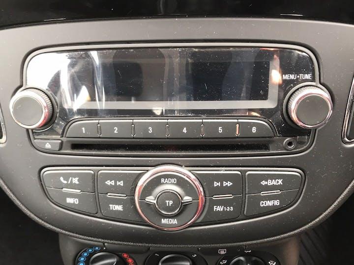 Red Vauxhall Corsa 1.4 Sting Ecoflex 2016