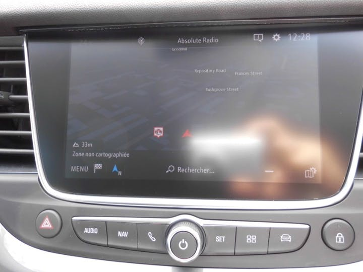 Black Vauxhall Grandland X 1.2 SRi Nav 2020