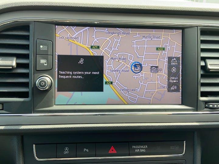 Black SEAT Leon 1.5 TSI Evo SE Dynamic 2019