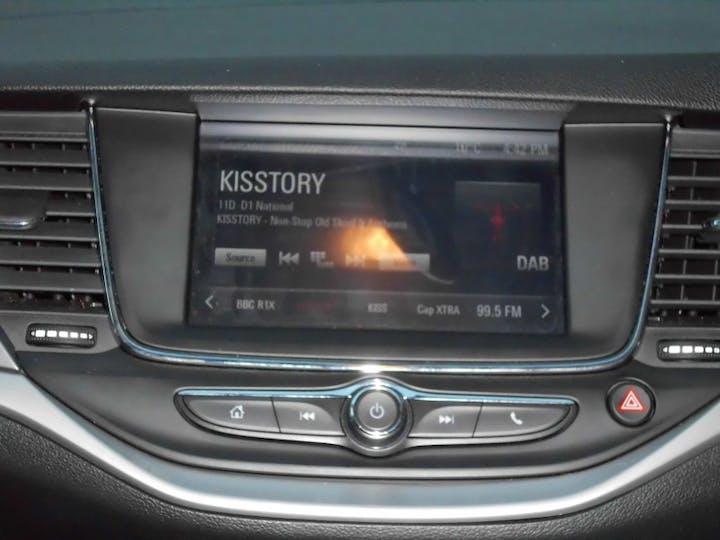 Silver Vauxhall Astra 1.4 Tech Line Nav 2018