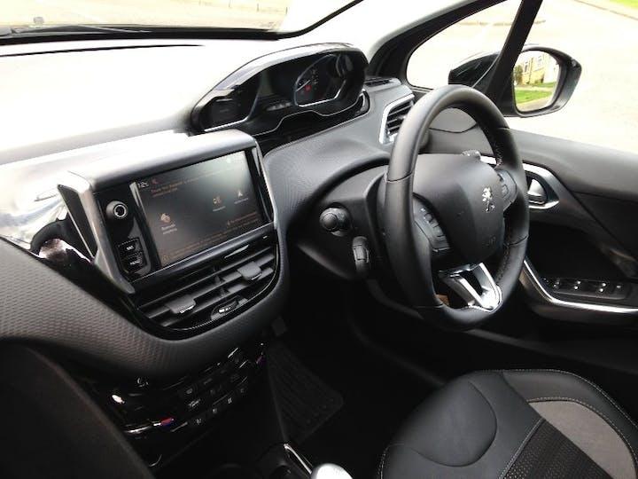 Black Peugeot 2008 1.2 S/S Allure 2019