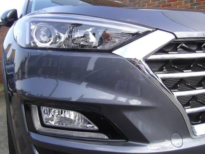Grey Hyundai Tucson 1.6 CRDi SE Nav 2019