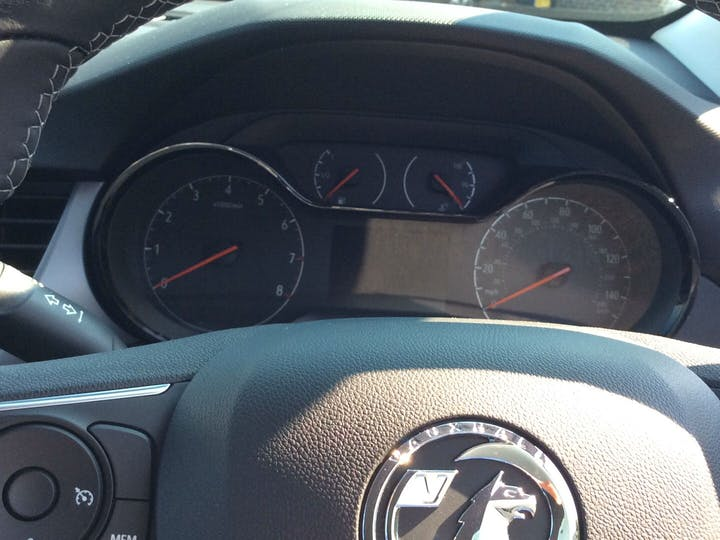 Blue Vauxhall Crossland X 1.2 SE Ecotec S/S 2020