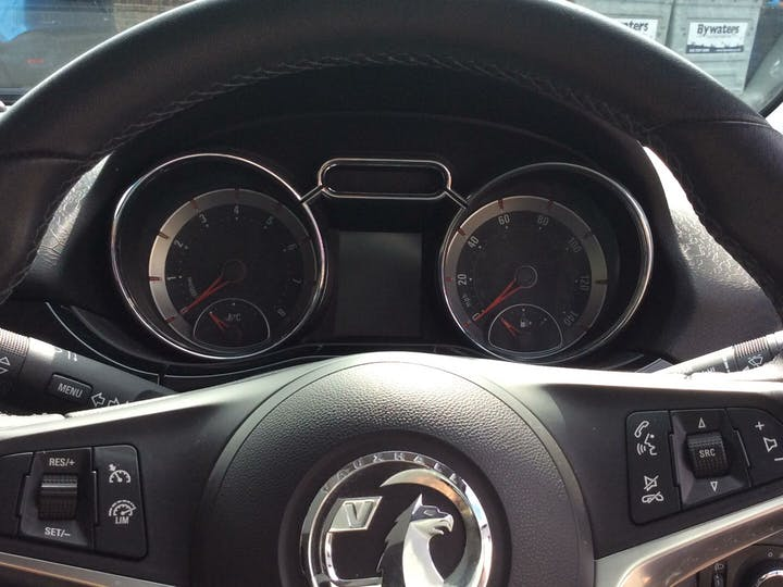 Grey Vauxhall Adam 1.2 Glam 2017