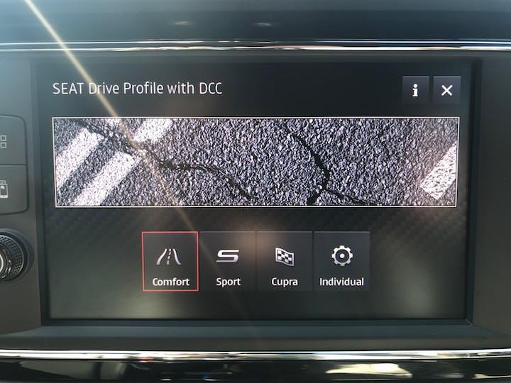Black SEAT Leon 2.0 TSI Cupra Lux 4drive DSG 2019