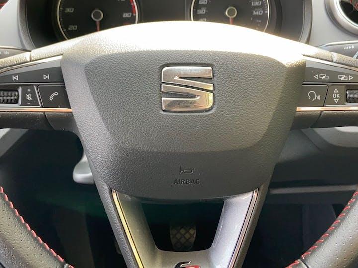 White SEAT Ibiza 1.2 TSI Fr Technology 2017