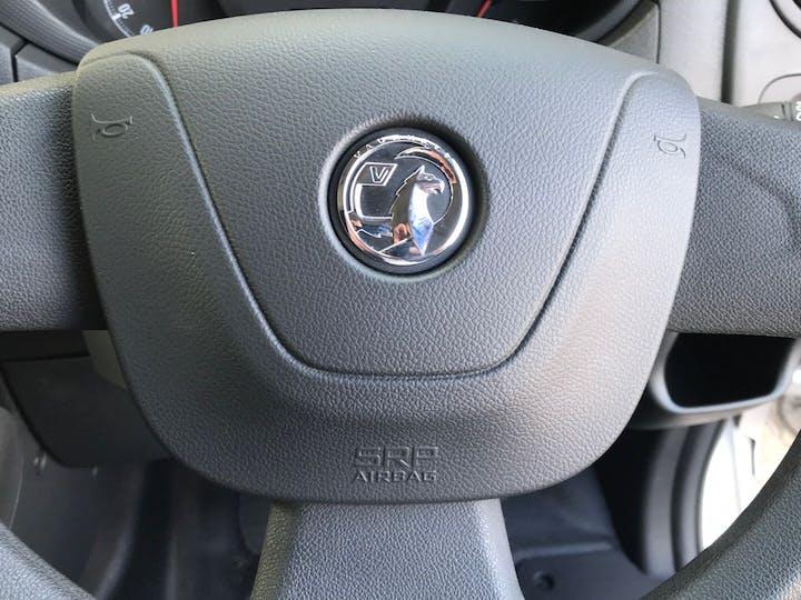 Silver Vauxhall Movano 2.3 L2h2 F3500 P/v 2020