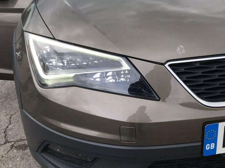 Brown SEAT Leon 2.0 X-perience TDI SE Technology 2014