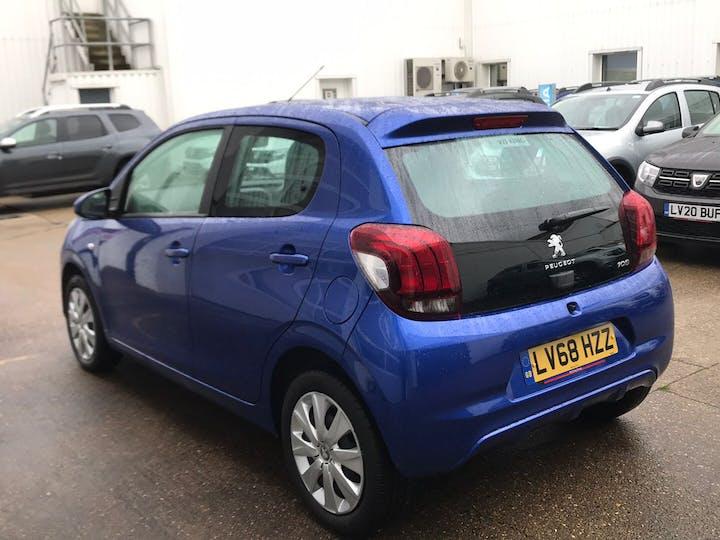 Blue Peugeot 108 1.0 Active 2018