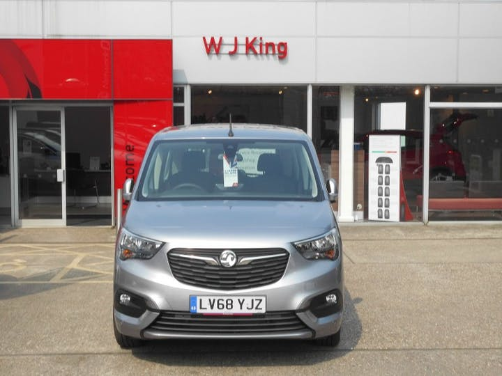Grey Vauxhall Combo Life 1.5 Energy CDTi 7 Seater Navigation 2019