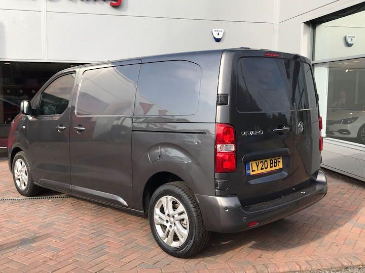 Grey Vauxhall Vivaro 2.0 L1h1 3100 Elite S/S 2020
