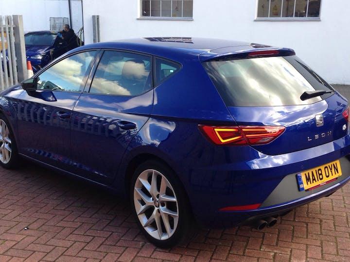 Blue SEAT Leon 1.4 TSI Fr Technology 2018