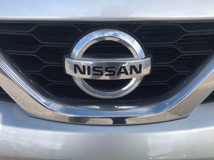 Silver Nissan Micra 1.2 N-tec 2016