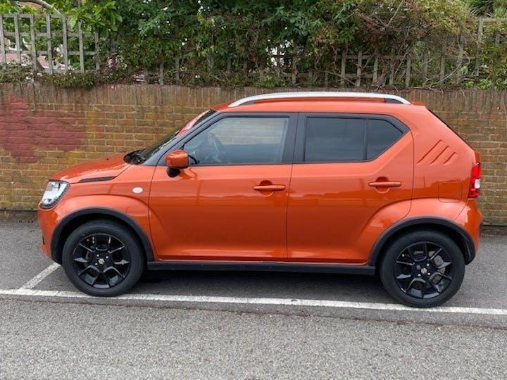 Orange Suzuki Ignis 1.2 Sz-t Dualjet 2017