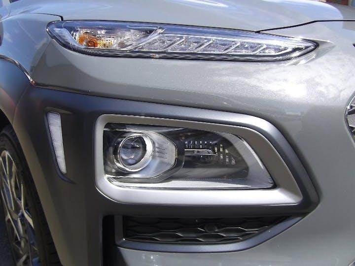 Grey Hyundai Kona 1.6 Gdi Hybrid Premium SE 2020