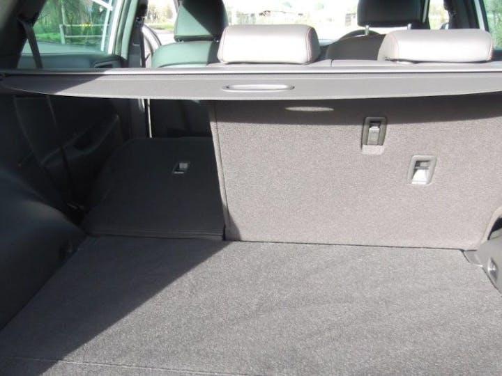 White Hyundai Tucson 1.6 T-gdi N Line 2019